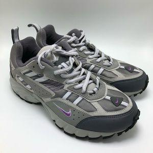 Women's Nike Grey Running Shoes Tennis Size 8.5